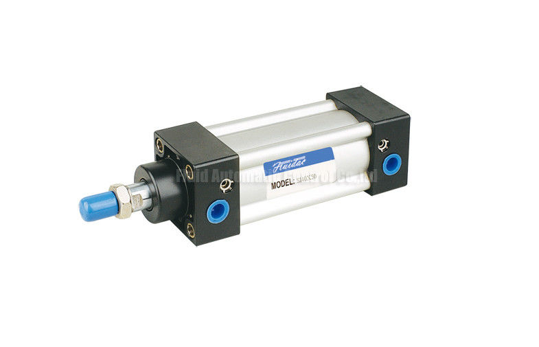 32mm~200mm  ISO6431 Pneumatic Air Cylinder SI-40-50-PPV-A With Magnet and Air cushion